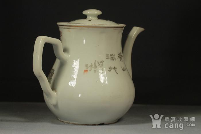 民国江西瓷业公司粉彩大茶壶图5