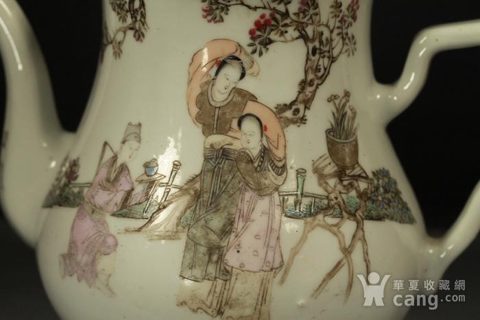民国江西瓷业公司粉彩大茶壶图6