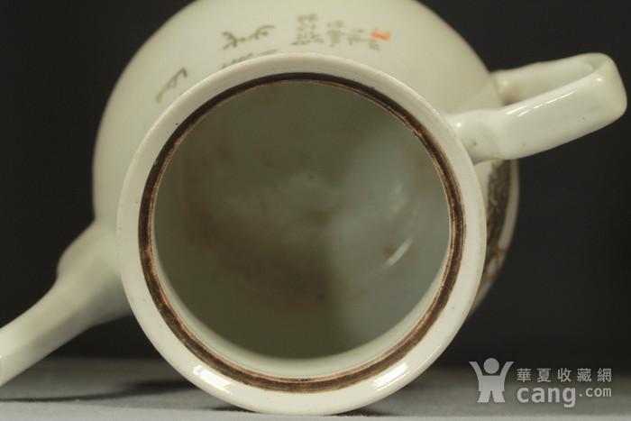 民国江西瓷业公司粉彩大茶壶图10