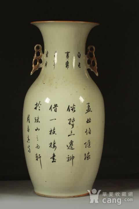 民国早期制瓷名家周图真粉彩孟母三迁纹150件大瓶图4