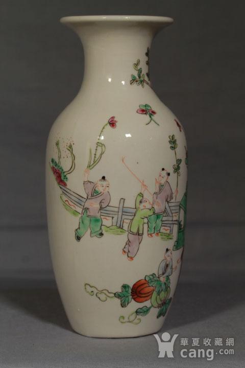 清代瓷瓶三个 全品图3