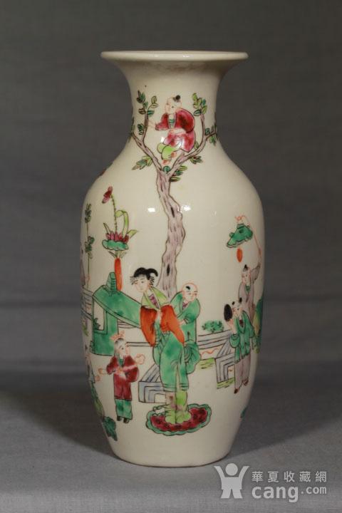 清代瓷瓶三个 全品图2