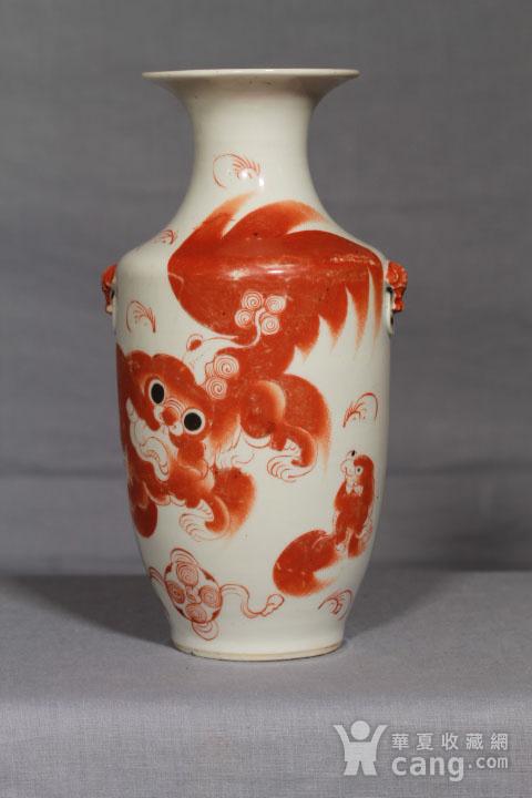 清代瓷瓶三个 全品图5