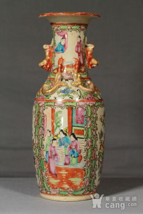 清代瓷瓶三个 全品图9