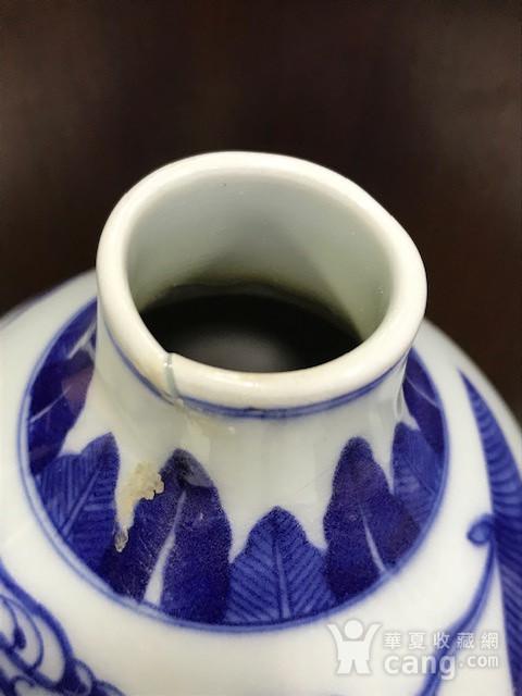 7540 青花人物故事葫芦大瓶图7