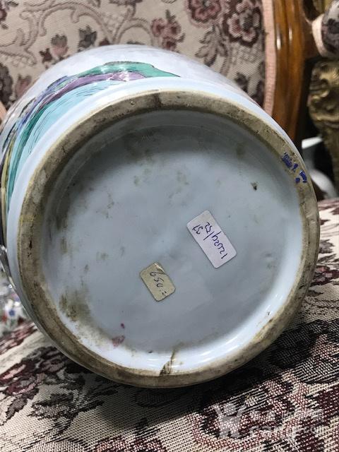 7541 民国粉彩人物大赏瓶图10