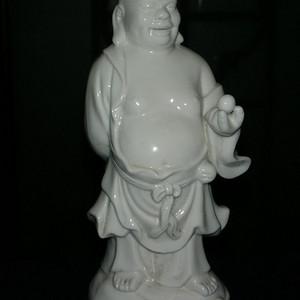 老货 德化窑白釉 弥勒佛