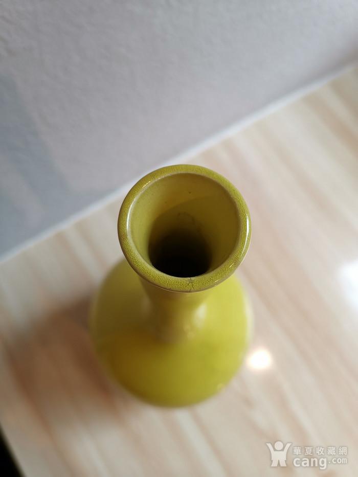 黄釉胆瓶图5