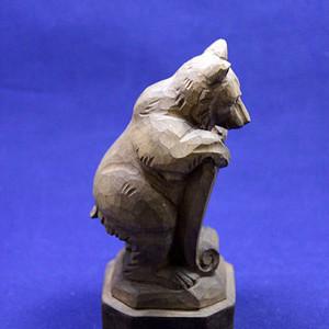 木雕熊 Bern