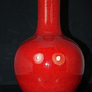 清郎窑红大瓶
