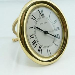 卡地亚Cartier镀金座钟 闹钟 创意与品位的传世经典