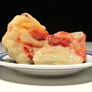 寿山老性芙蓉石 五花肉 套件