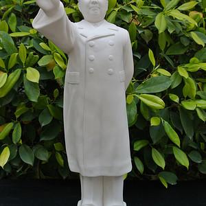 出口创汇期德化瓷厂领袖毛主席塑像