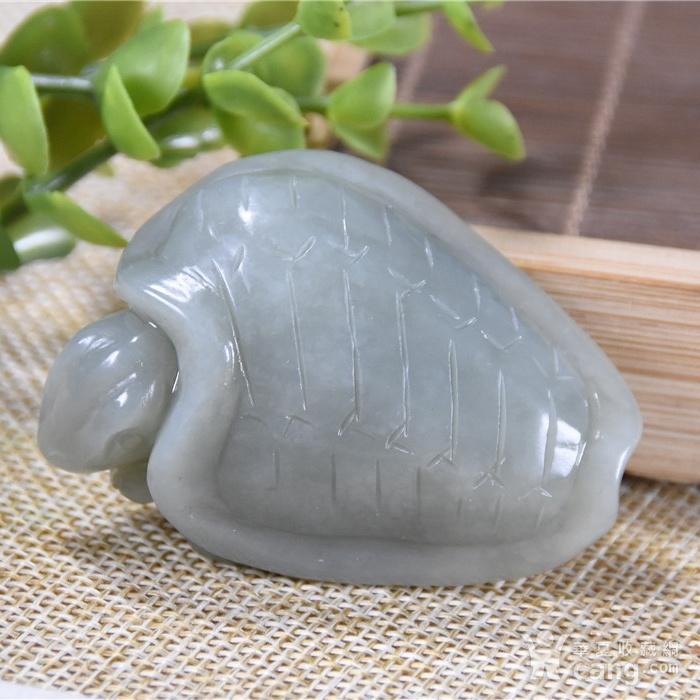 和田玉  神龟 长寿吉祥图3