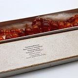 正品1940年代柯尼斯堡老琥珀塔链 盒罕见