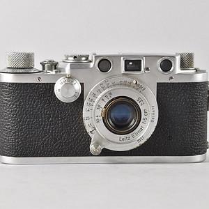 二战同款徕卡Leica III f旁轴相机