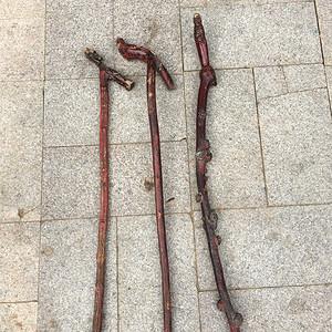 清代老手杖