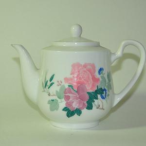 醴陵红官窑茶壶一个
