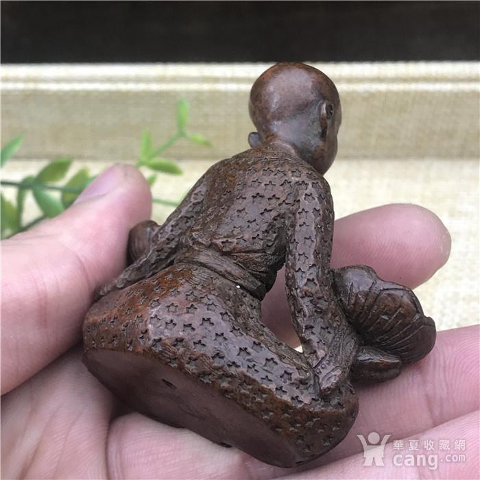 日本回流 铜器 步步生莲图5