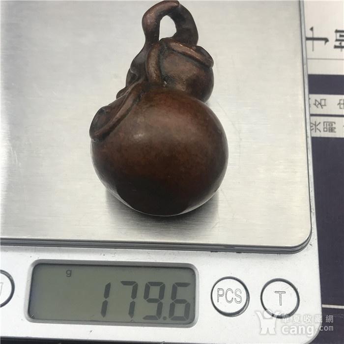 日本回流 铜器  葫芦 福禄双全图7