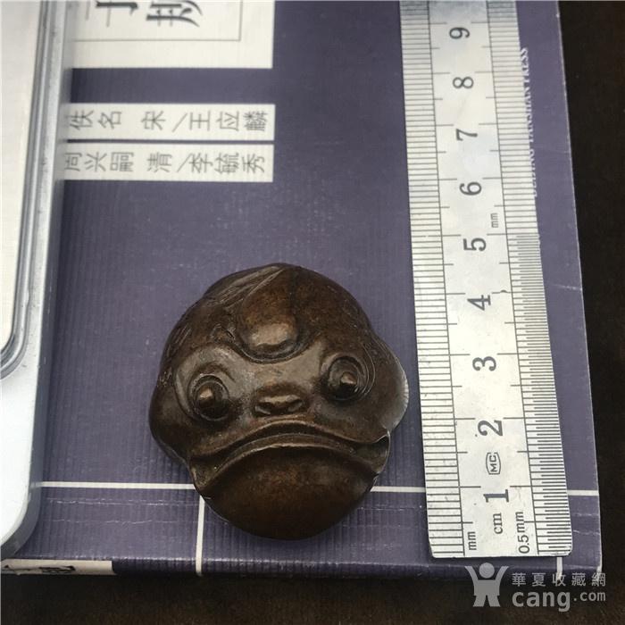 日本回流 铜器 金蟾图8