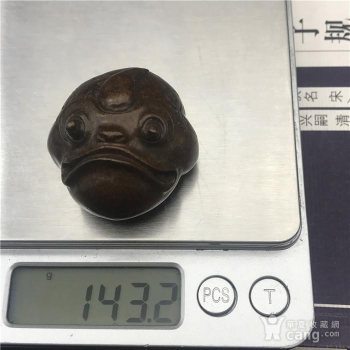 日本回流 铜器 金蟾图9