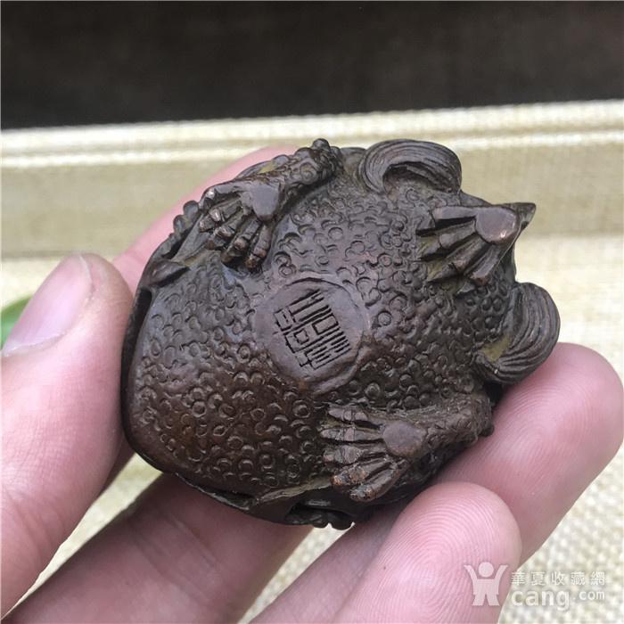 日本回流  铜器  响铃 金蟾图7