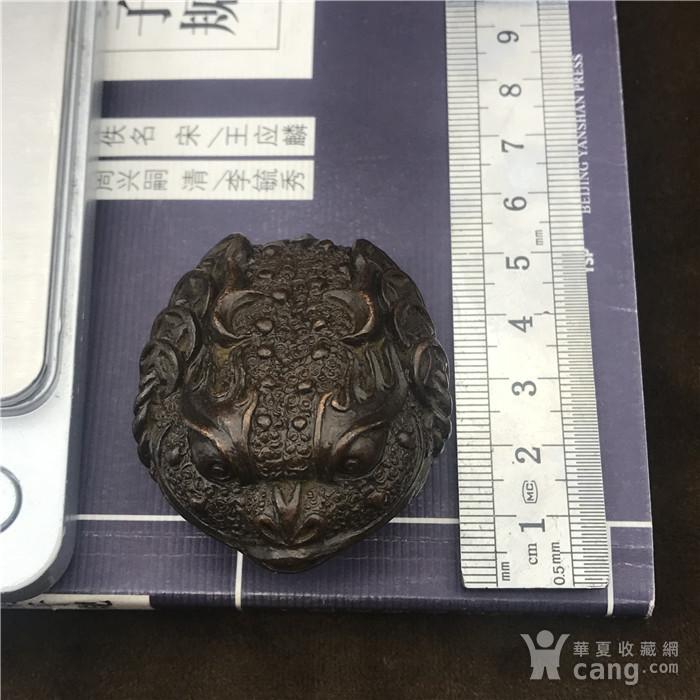 日本回流  铜器  响铃 金蟾图11