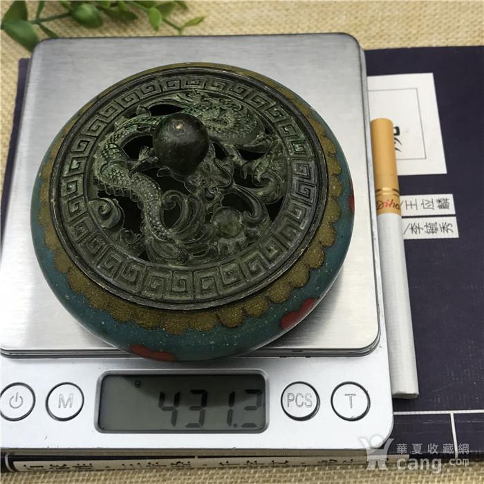 日本回流  景泰蓝 香炉图9