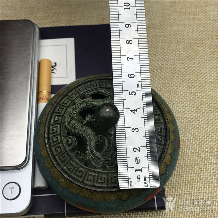 日本回流  景泰蓝 香炉图8