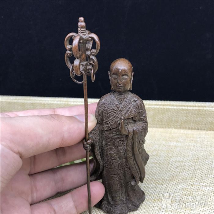 日本回流 铜器 地藏王 菩萨图2