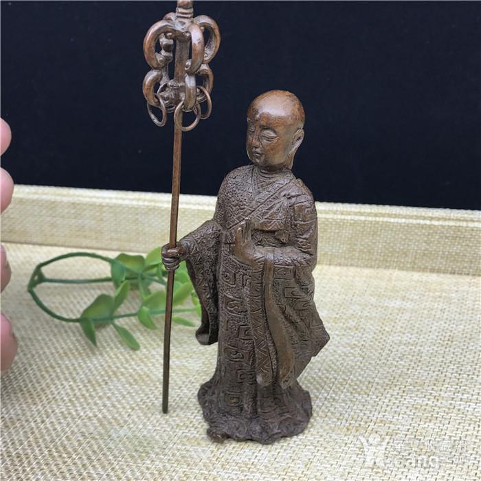 日本回流 铜器 地藏王 菩萨图3