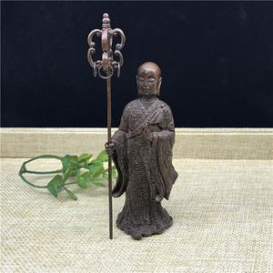 日本回流 铜器 地藏王 菩萨