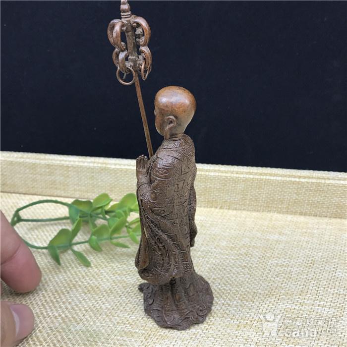 日本回流 铜器 地藏王 菩萨图7