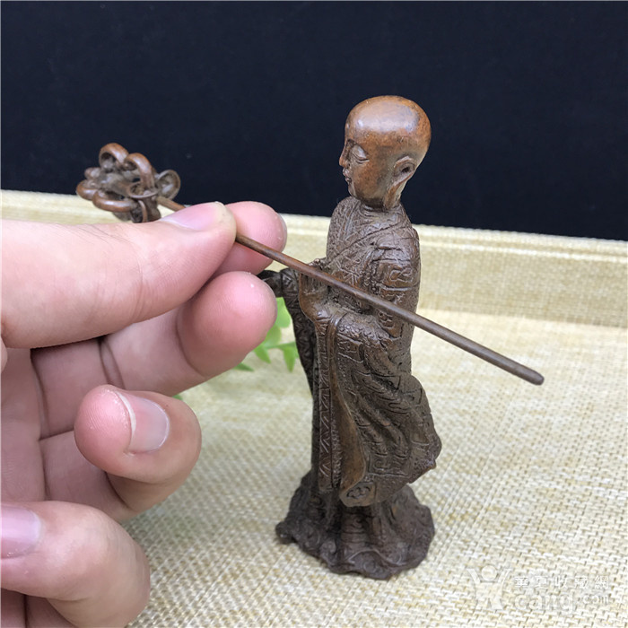 日本回流 铜器 地藏王 菩萨图9