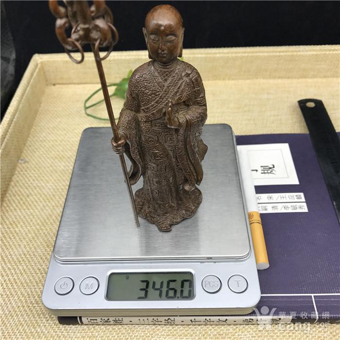 日本回流 铜器 地藏王 菩萨图11