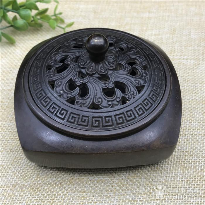 日本回流 铜器 香炉图1