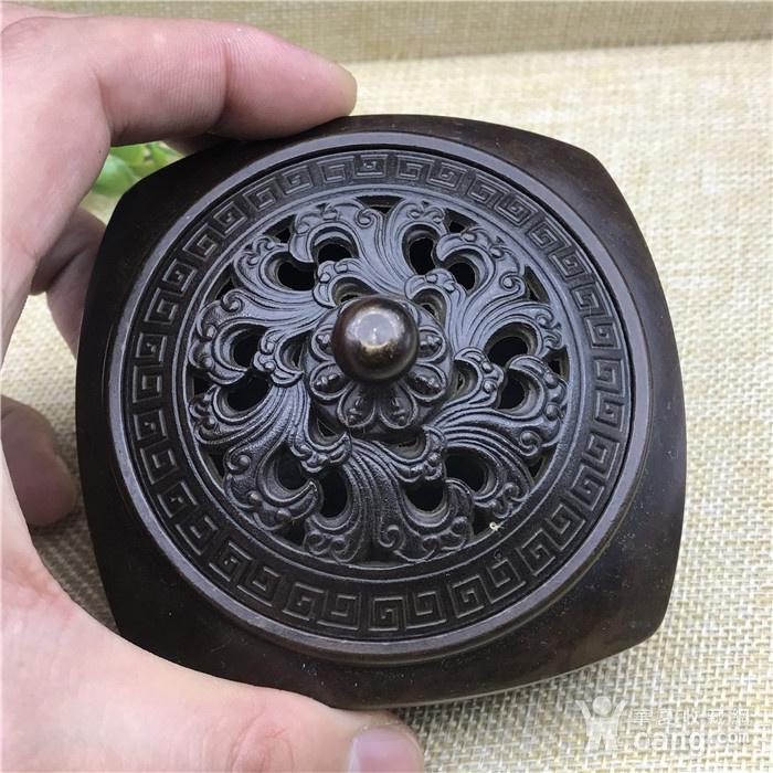 日本回流 铜器 香炉图2