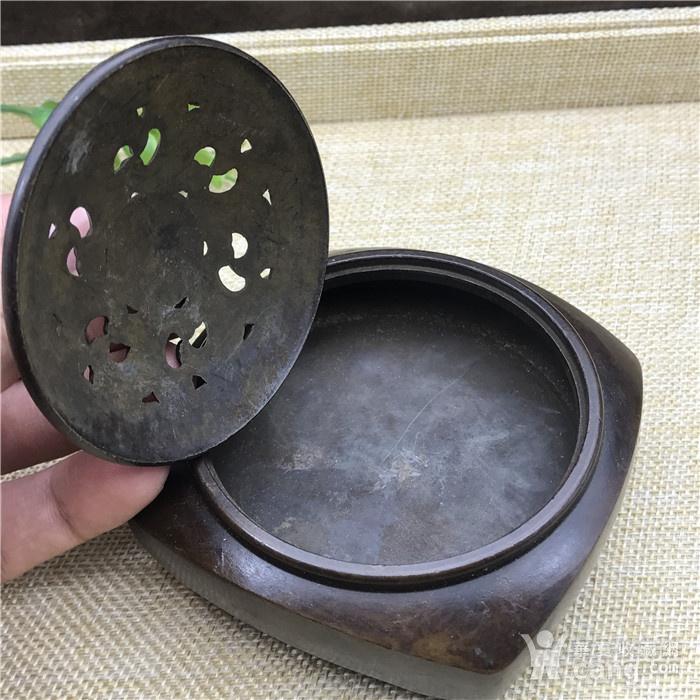 日本回流 铜器 香炉图6