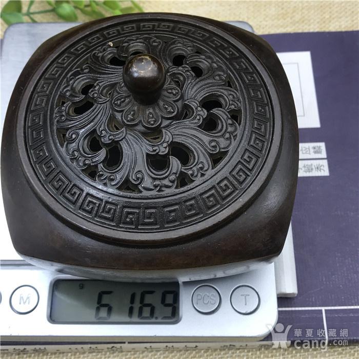 日本回流 铜器 香炉图10