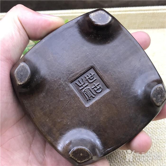 日本回流 铜器 香炉图7