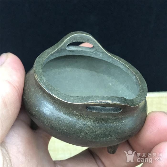 日本回流 铜器 小鼎图6