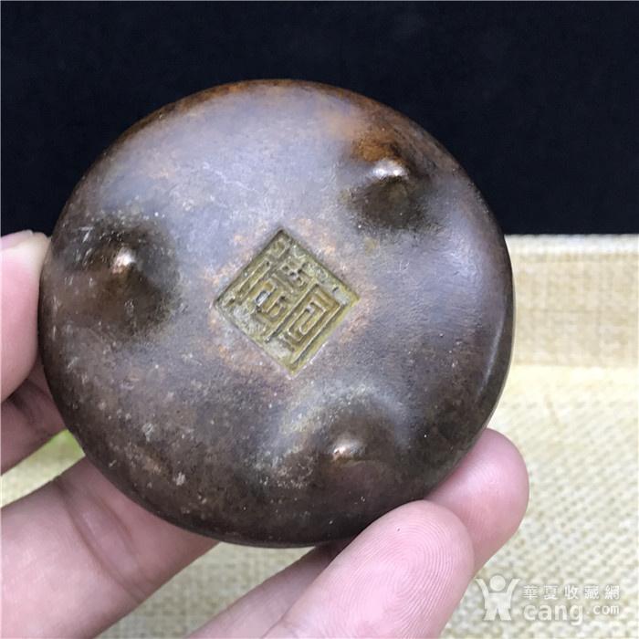 日本回流 铜器 小鼎图4
