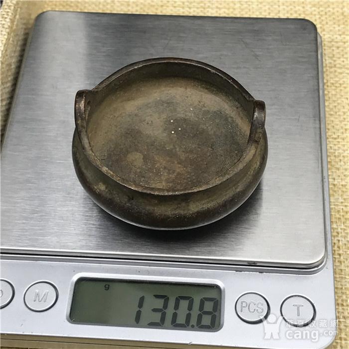 日本回流 铜器 小鼎图8