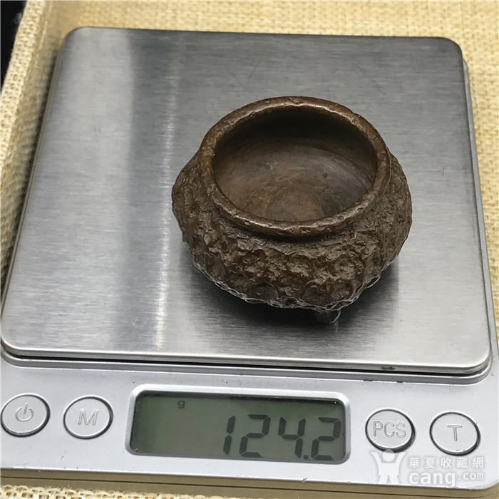 日本回流 铜器  三足鼎图9