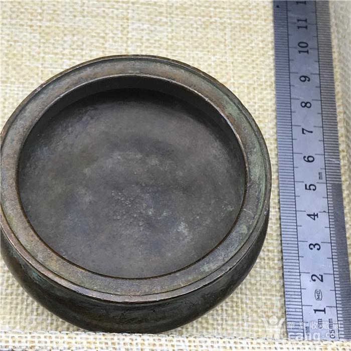 日本回流 铜器  三足香炉图9