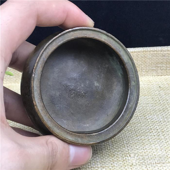 日本回流 铜器  三足香炉图8