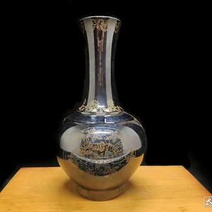 联盟 霁黑金丝瓶
