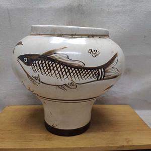 联盟 磁州窑罐