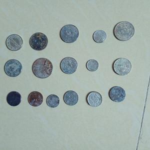 外国硬币16枚